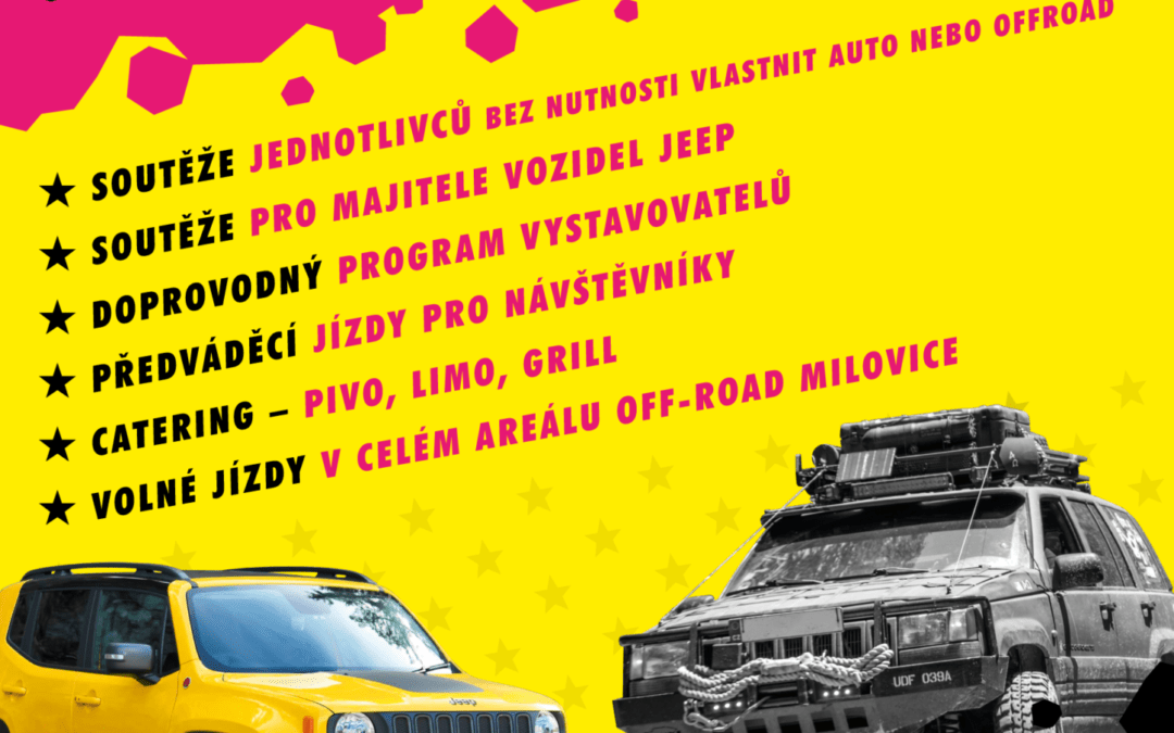 Jeep Weekend 2019 – 7-9.6.2019 Milovice